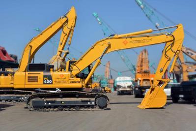 New arrival - Brand new Komatsu Crawler Excavator PC 400