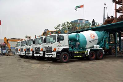 New Arrival - Brand New Hino Concrete Mixer Trucks 3841