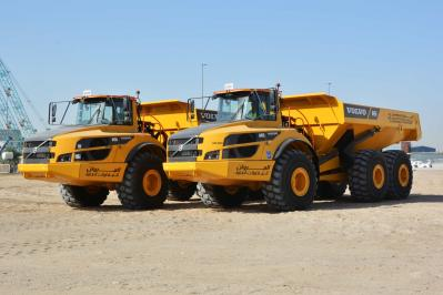 BRAND NEW VOLVO ARTICULATED DUMPER TRUCK[...]