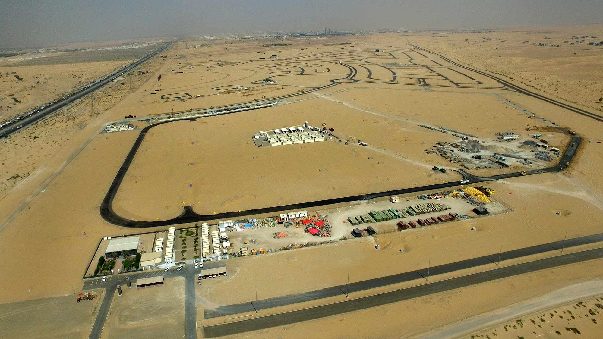 تطوير الأراضي في منطقة الجويزع - الشارقة