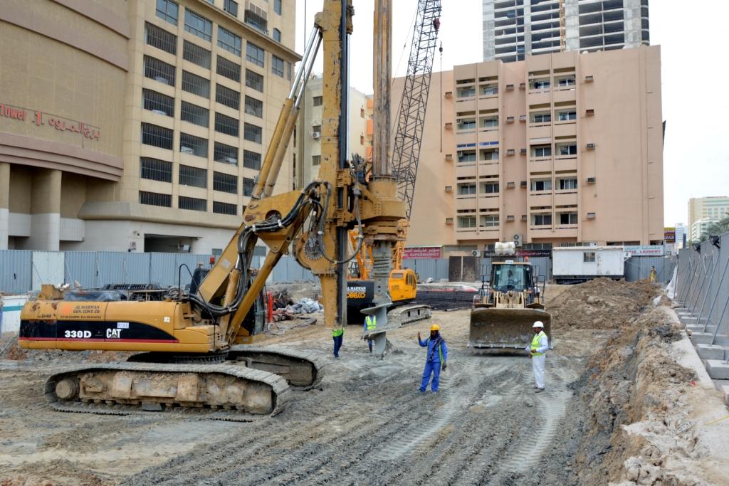 حفر اساسات لشقق فندقية