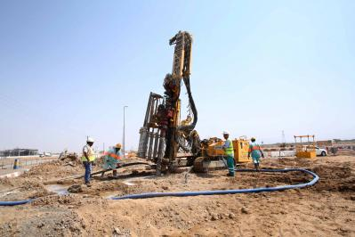 Contract R1015 - Piling Works for Bridge to Suhaila Commercial Area - Sharjah.